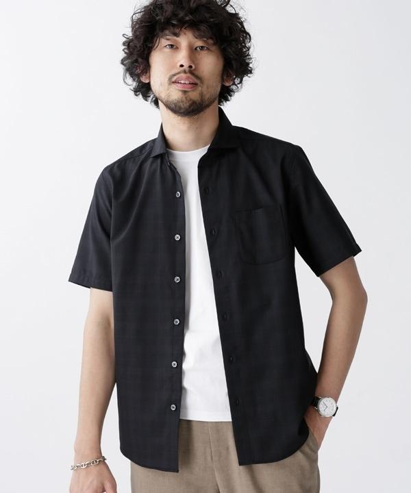 TWカッタウェイシャツ/半袖 5000円以上送料無料【公式/ナノ・ユニバース】