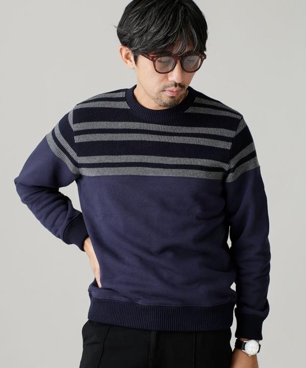 Nano Blending セットインクルーネックスウェット 5000円以上送料無料【公式/ナノ・ユニバース】