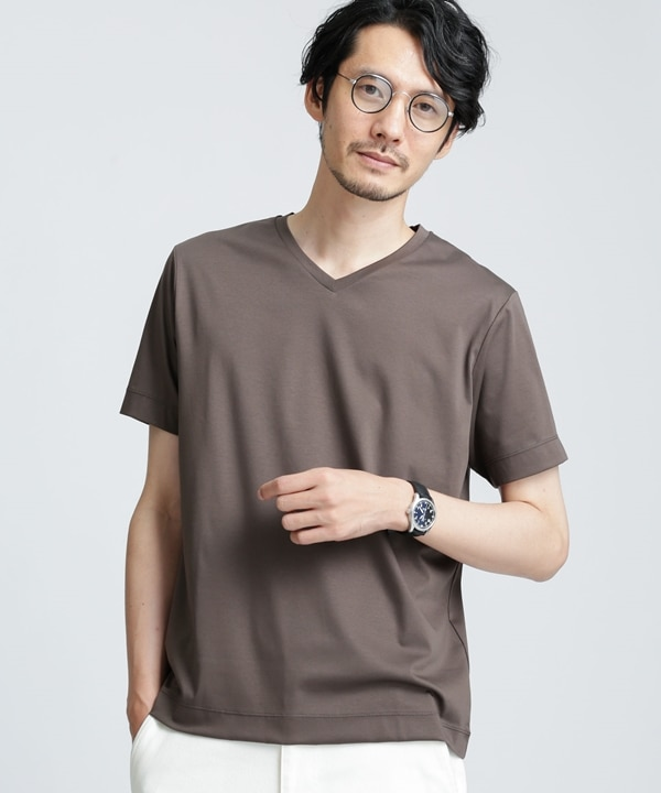 ドレスTEE Vネック 5000円以上送料無料【公式/ナノ・ユニバース】