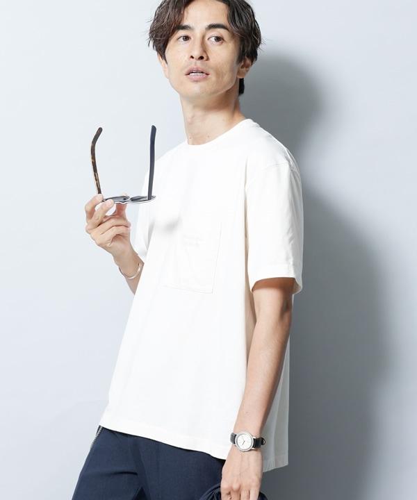 BRING COVEROSS ロゴクルーネックTシャツ 5000円以上送料無料【公式/ナノ・ユニバース】