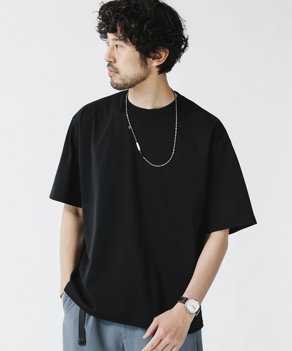 Primeflex 鹿の子クルーネックTシャツ 5000円以上送料無料【公式/ナノ・ユニバース】