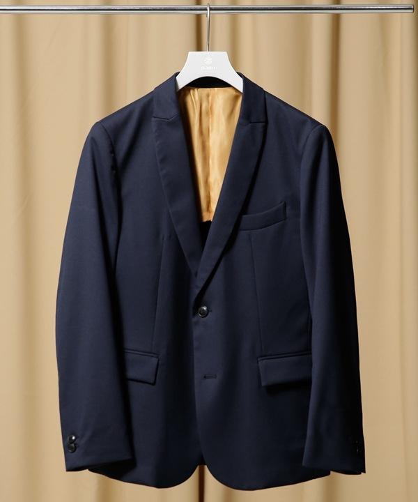 【公式/ナノ・ユニバース】Y/D TWILL T/R 2Bジャケット 5000円以上送料無料【nano LIBRARY】