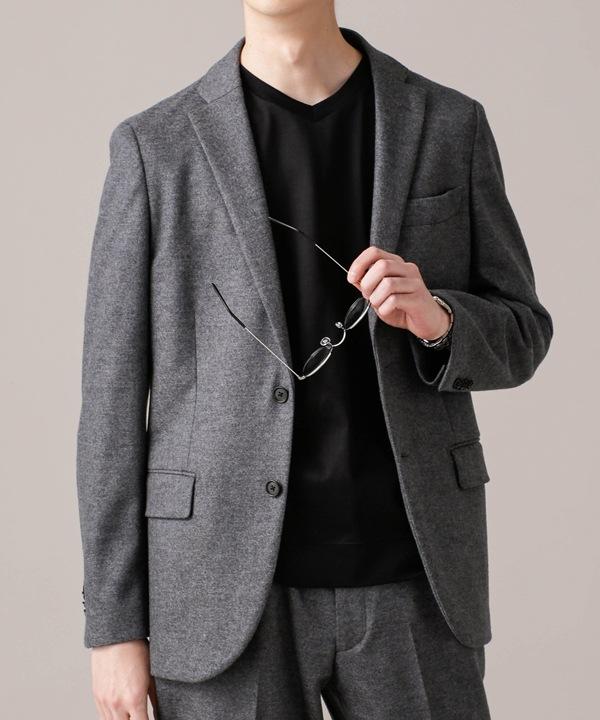 24G 圧縮ジャージスムースジャケット SL 5000円以上送料無料【公式/ナノ・ユニバース】