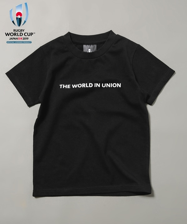 RUGBY WORLD CUP 2019(TM)半袖Tシャツ キッズ用 5000円以上送料無料【公式/ナノ・ユニバース】