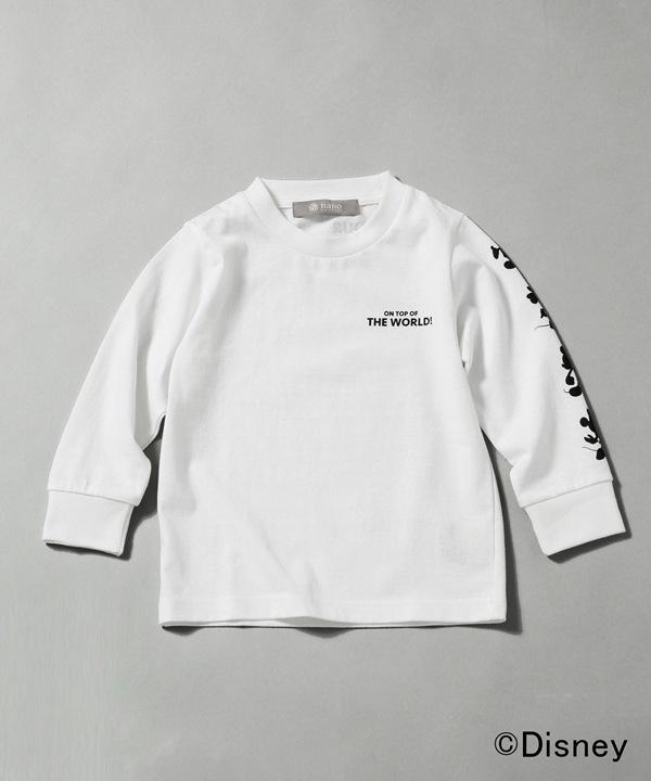 Disney/ラグビーグラフィック長袖Tシャツ キッズ用 5000円以上送料無料【公式/ナノ・ユニバース】