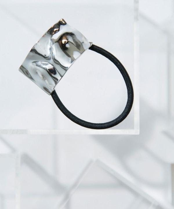 スクエアメタルヘアゴム 5000円以上送料無料【公式/ナノ・ユニバース】