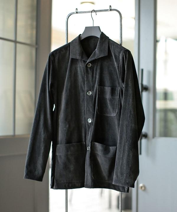 【公式/ナノ・ユニバース】別注コーデュロイ2ポケットシャツジャケット 5000円以上送料無料【RING JACKET】