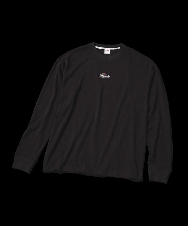 【公式/ナノ・ユニバース】別注ロングスリーブフォトTシャツ 5000円以上送料無料【FRUIT OF THE LOOM】