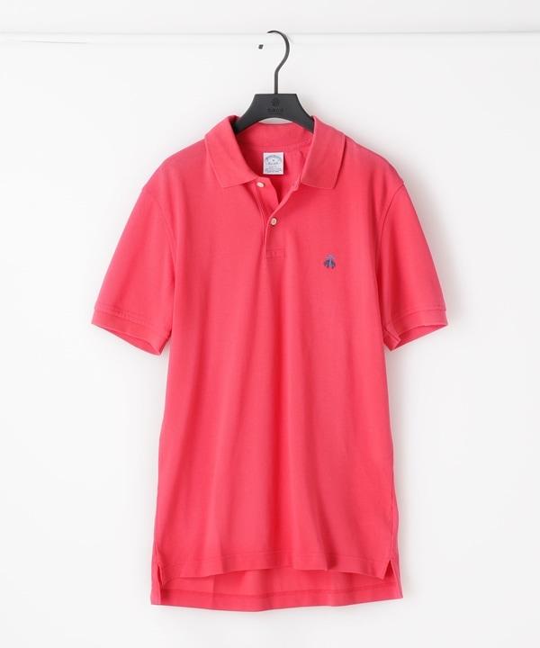 【公式/ナノ・ユニバース】スーピマコットンピケ パフォーマンス ポロシャツ 5000円以上送料無料【Brooks Brothers】